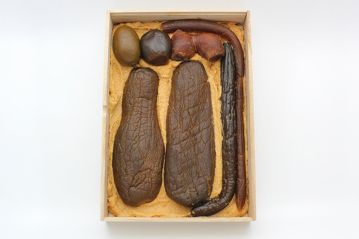 木箱入奈良漬 N-40