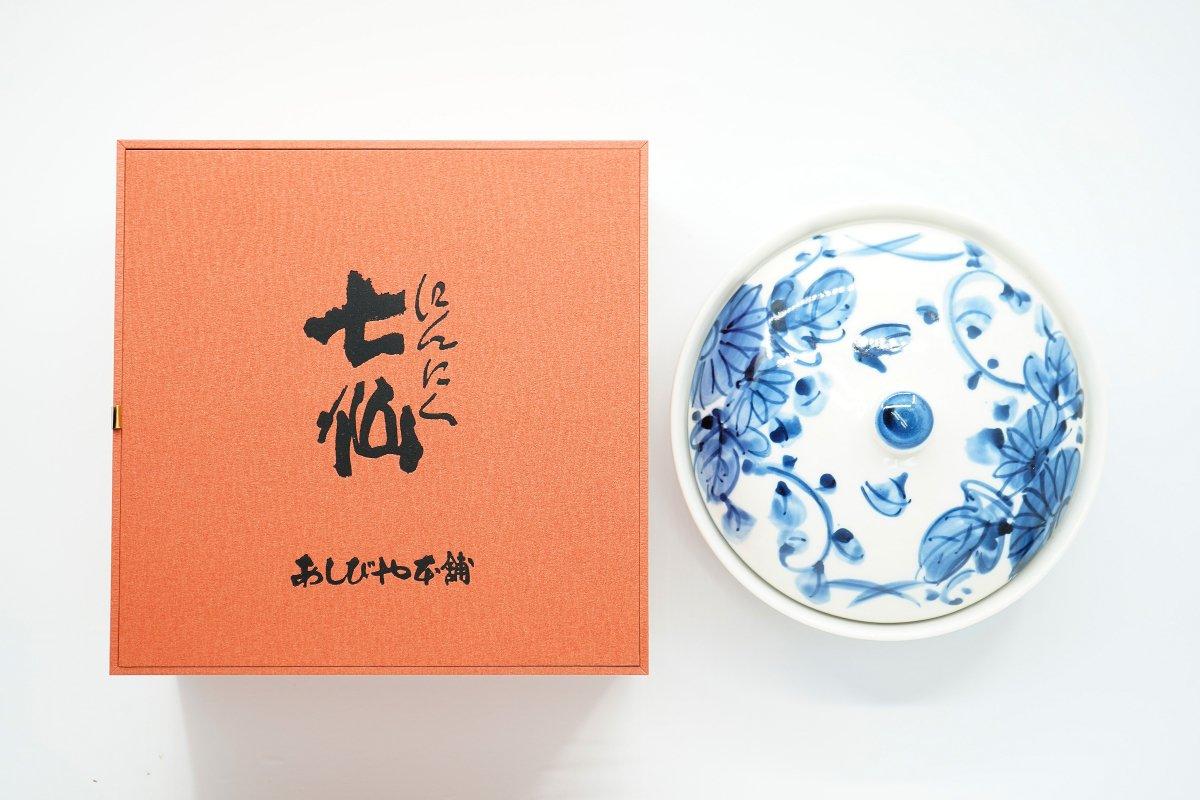 趣味の陶器入にんにく七仙 750