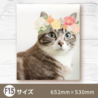 デザインキャンバス-花冠コラージュ-【F15】