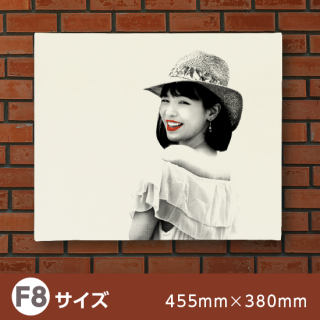 デザインキャンバス-50'sポップアート風-【F8】