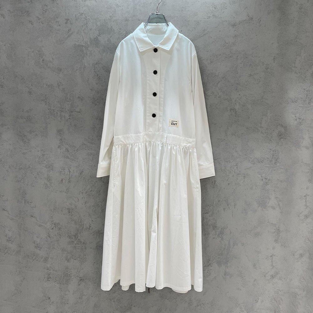 CUT/  JUMPSUITS DRESS (WHT)