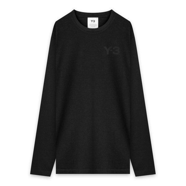 【40%OFF】Y-3 (Yohji Yamamoto x Adidas) / M CLASSIC CHEST LOGO LS TEE (BLK)