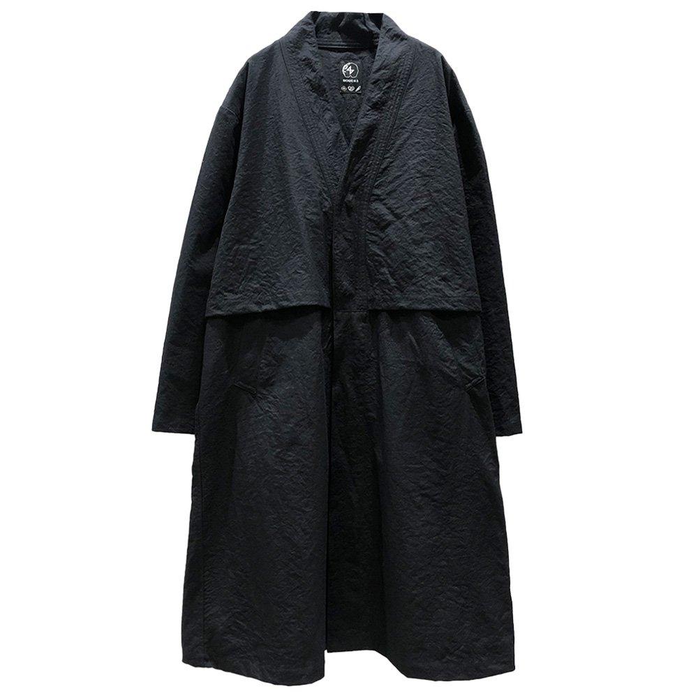 NOU℃42 / WADOUGI  Long Coat (BLK)