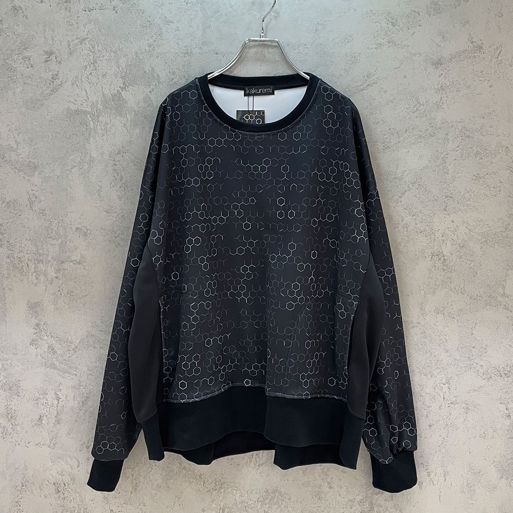 kakuremi / kagakushiki box sweat (BLK)