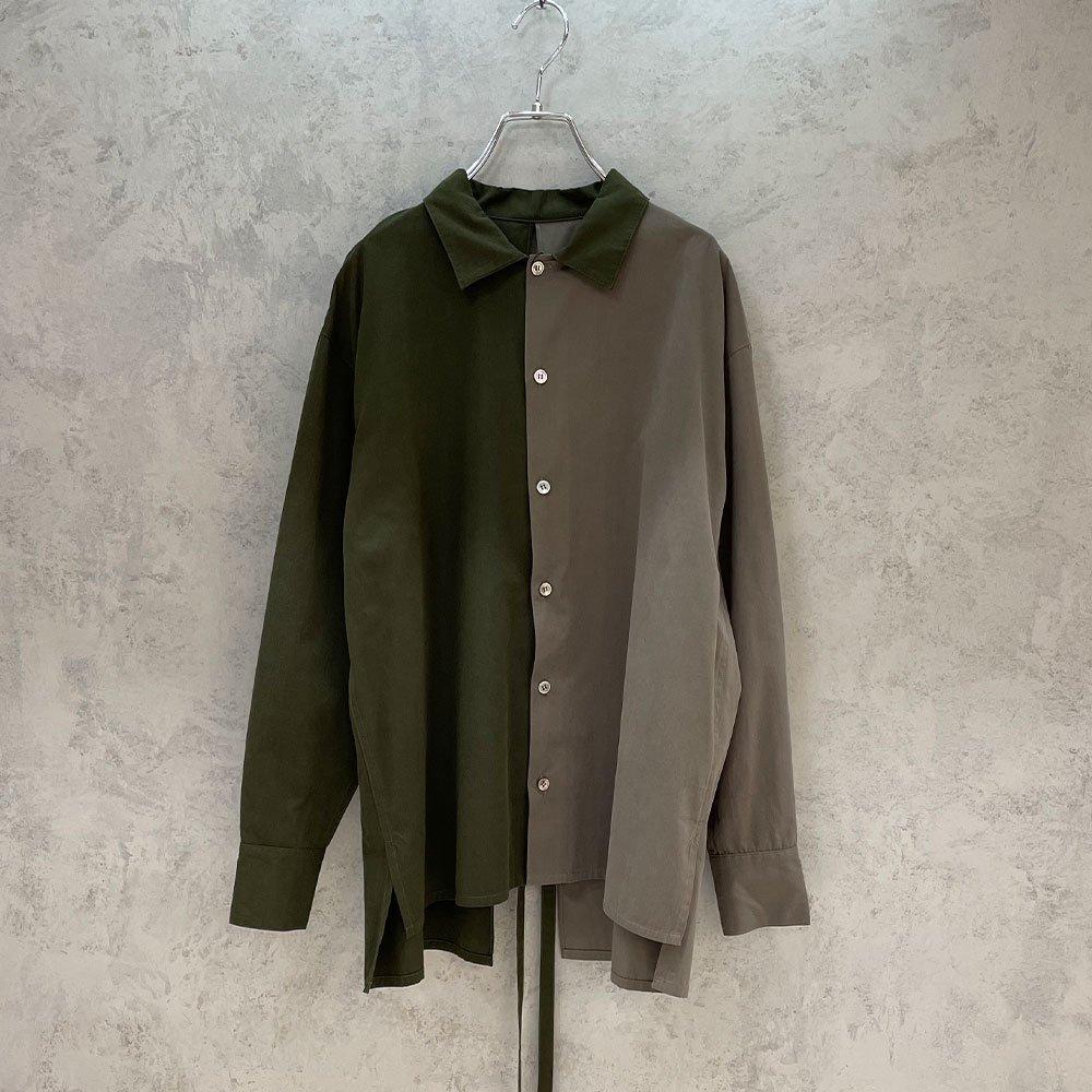 ReAdd / bi-color slitshirts