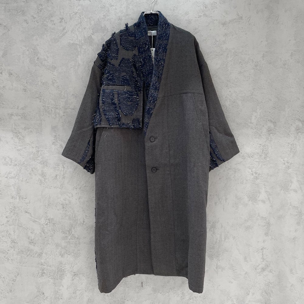 inbi/ Haori Coat (NAVY)