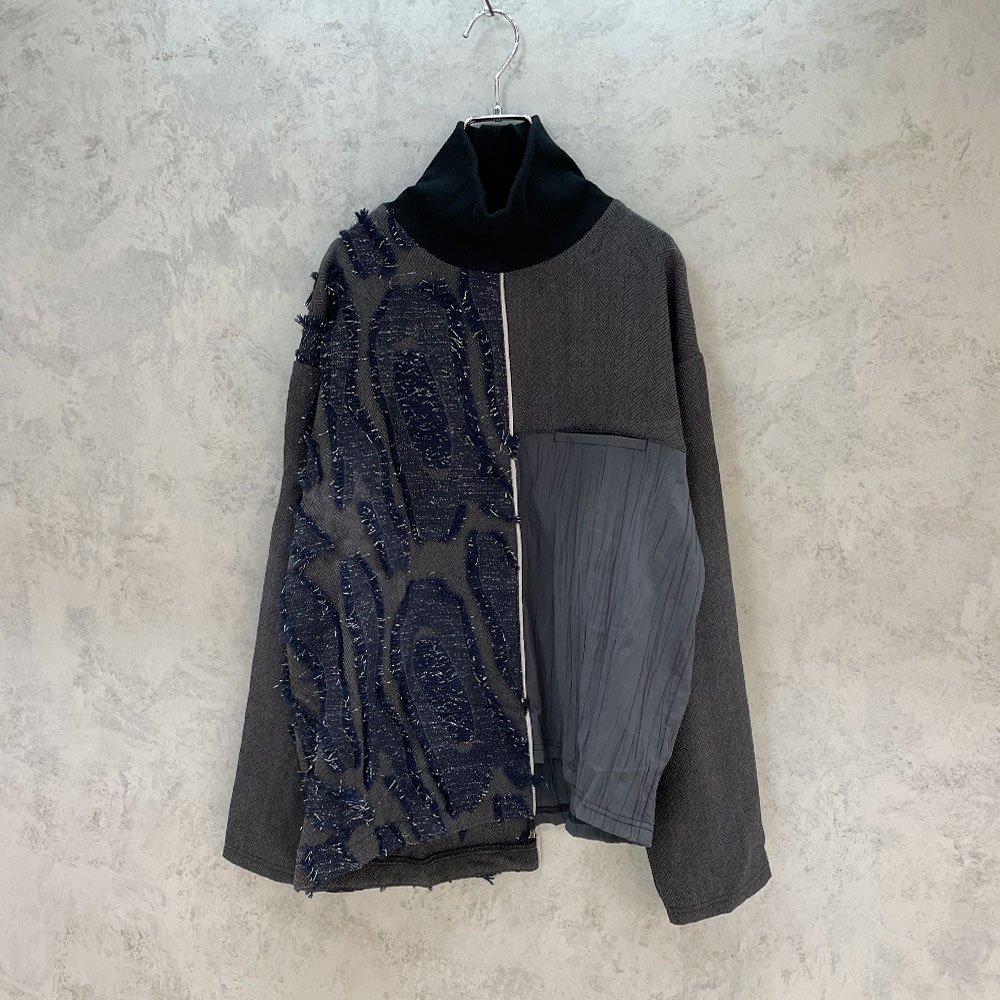 inbi/ Ribneck Pullover (NAVY)