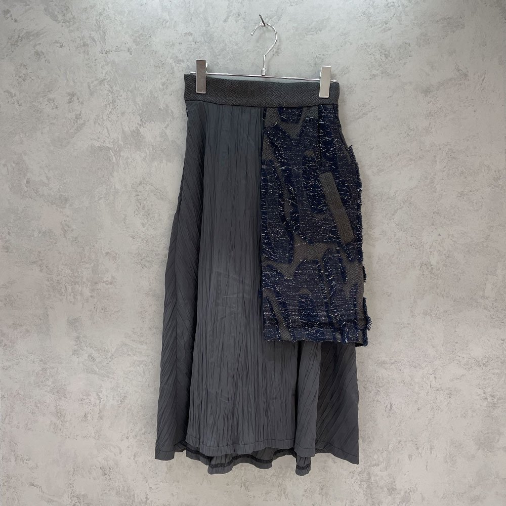 inbi/ Coathem Skirt (NAVY)