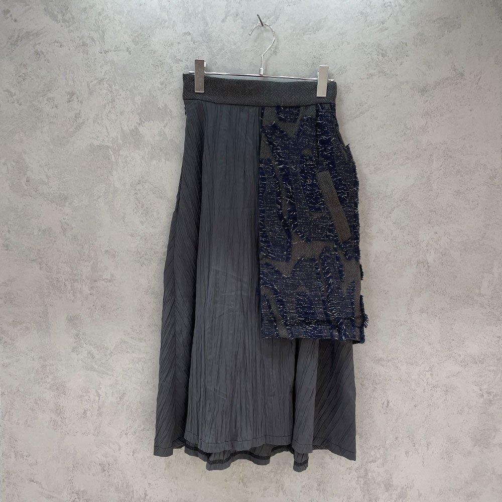 inbi/ Coathem Skirt (NAVY)