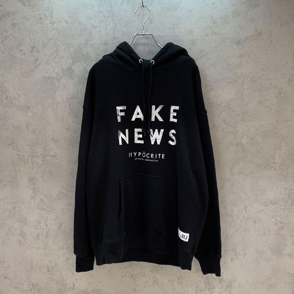 HYPOCRITE / FAKE NEWS HOODY (BLK)