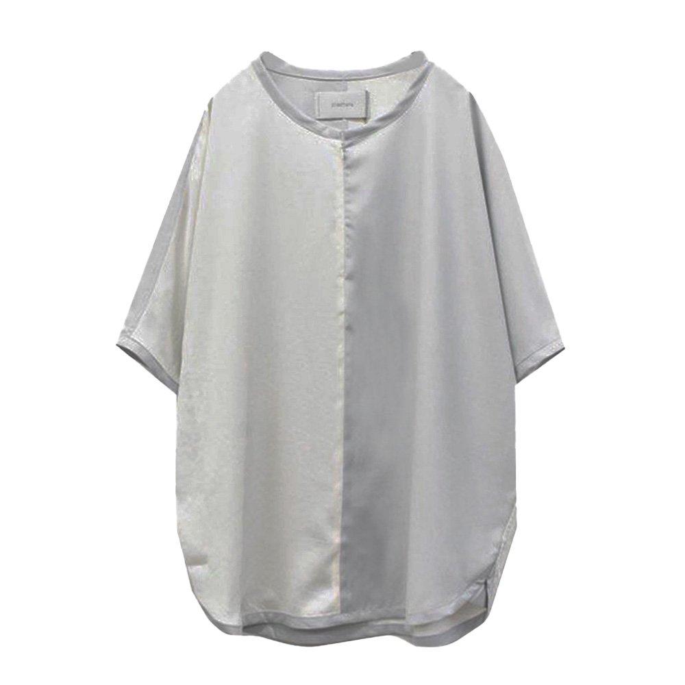 prasthana/  slick shirts discord (WHT)