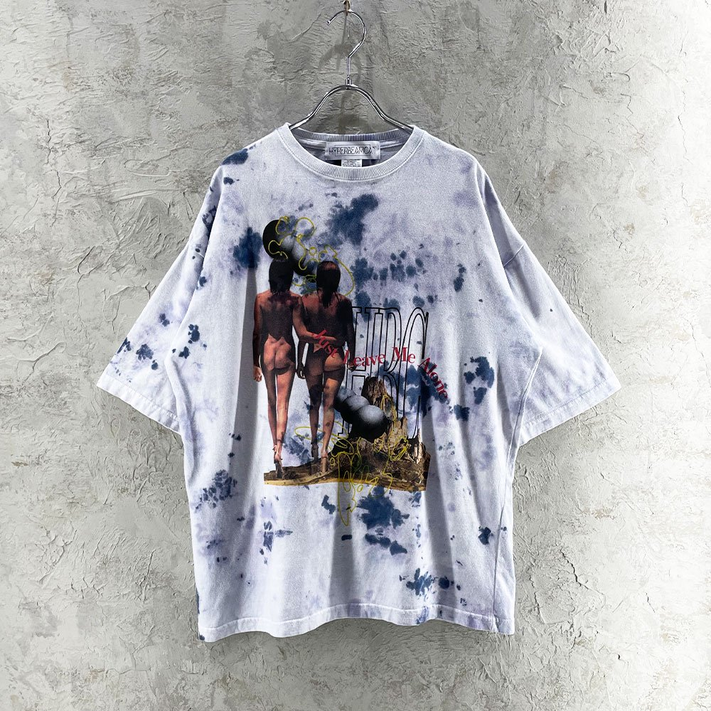 H.B.C /  JUST LEAVE ME ALONE TEE (WHT)