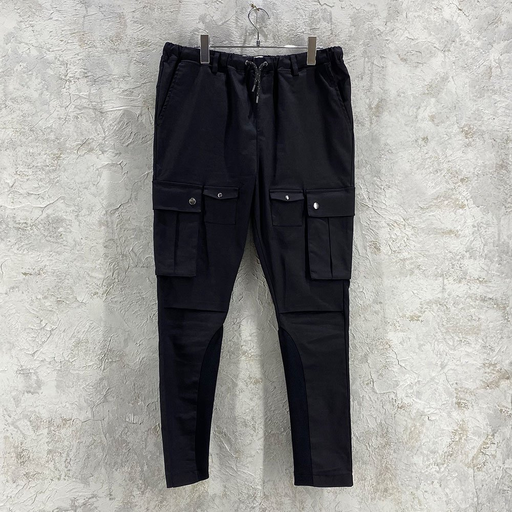 SUS by. SUSPEREAL / STRETCH TITE TAPERED RIB CARGO PANTS