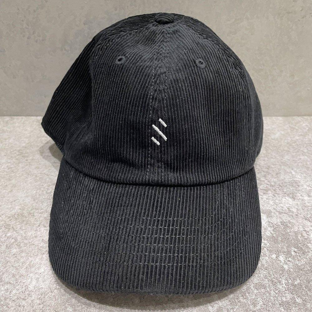 SUS by. SUSPEREAL/  CORDUROY CAP (BLK)