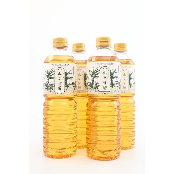 ヒラミネの木立甘酢 お徳用1L 4本セット