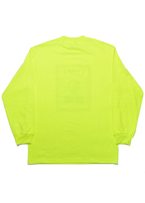 I&I 古着 通販 MEMORIAL L/S TEE(WHITE & SAFETY GREEN) 詳細画像6