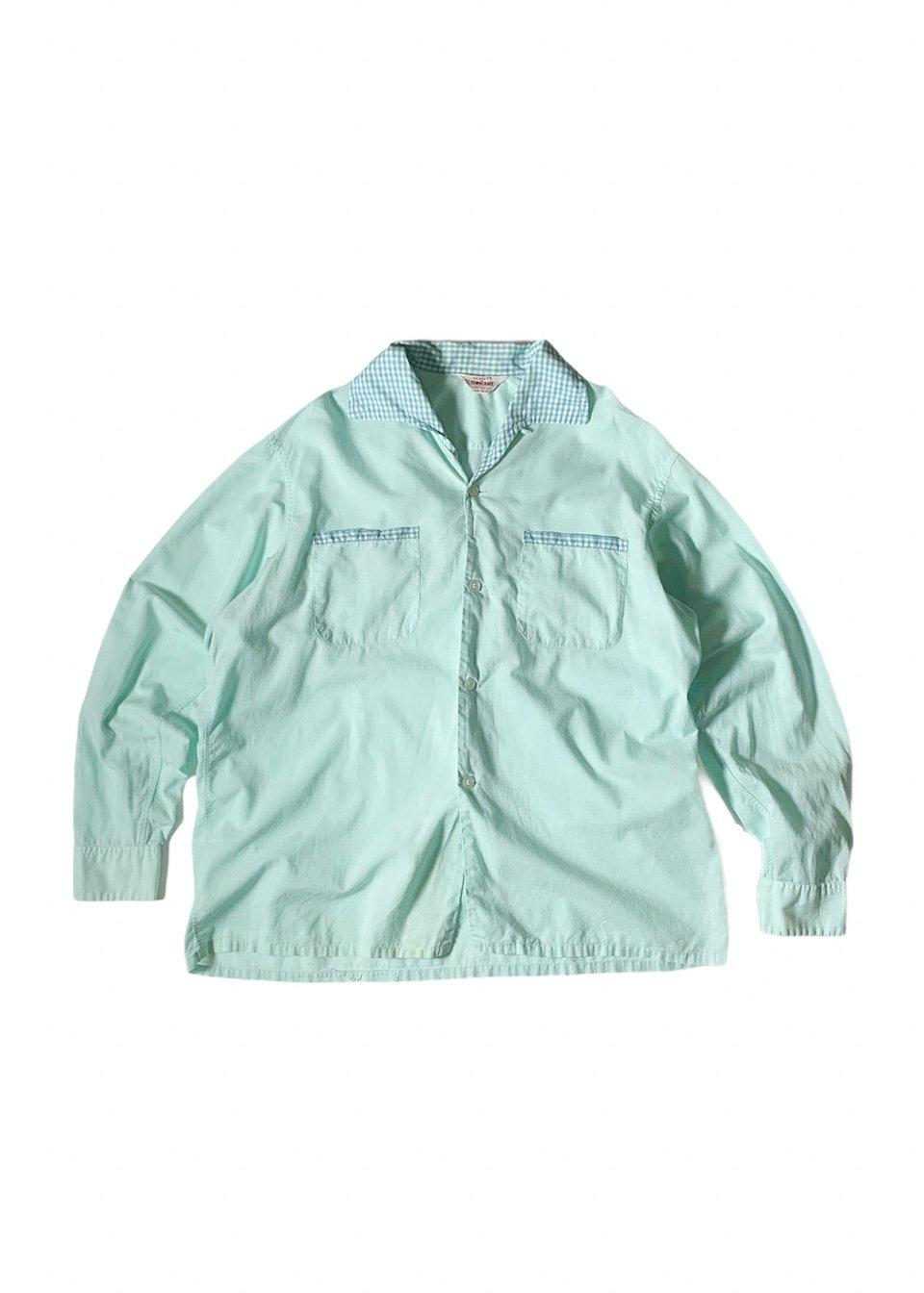 "I&I 古着 通販 ""PENNY'S TOWNCRAFT"" Pajama L/S Shirt 詳細画像"