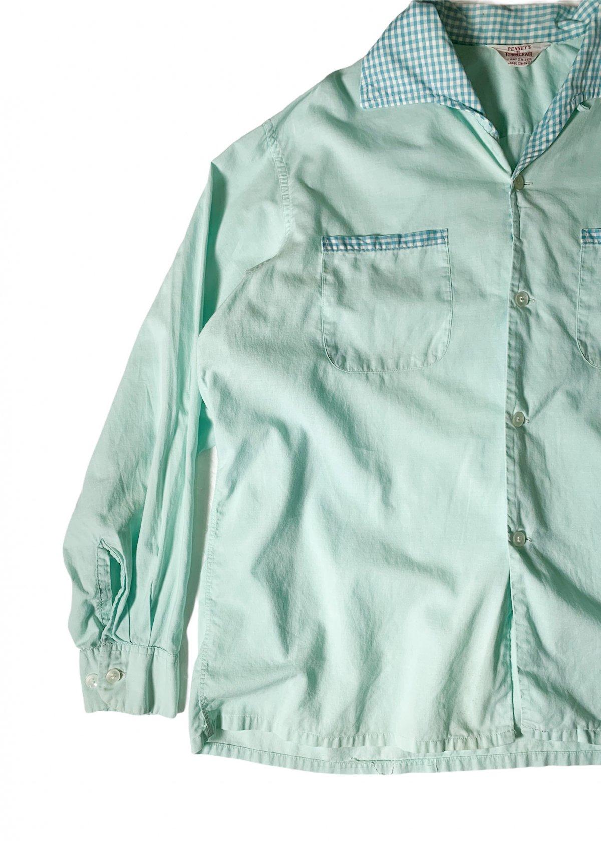 "I&I 古着 通販 ""PENNY'S TOWNCRAFT"" Pajama L/S Shirt 詳細画像1"