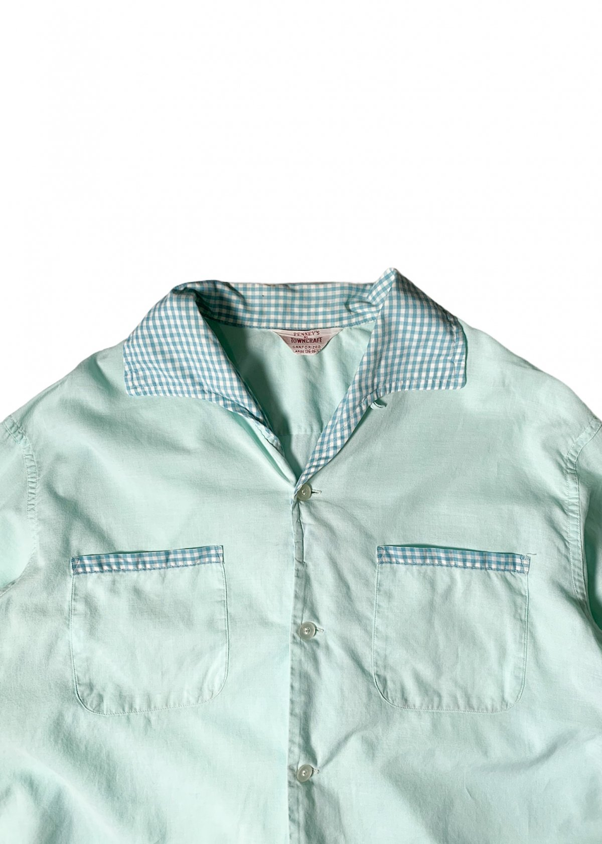 "I&I 古着 通販 ""PENNY'S TOWNCRAFT"" Pajama L/S Shirt 詳細画像2"