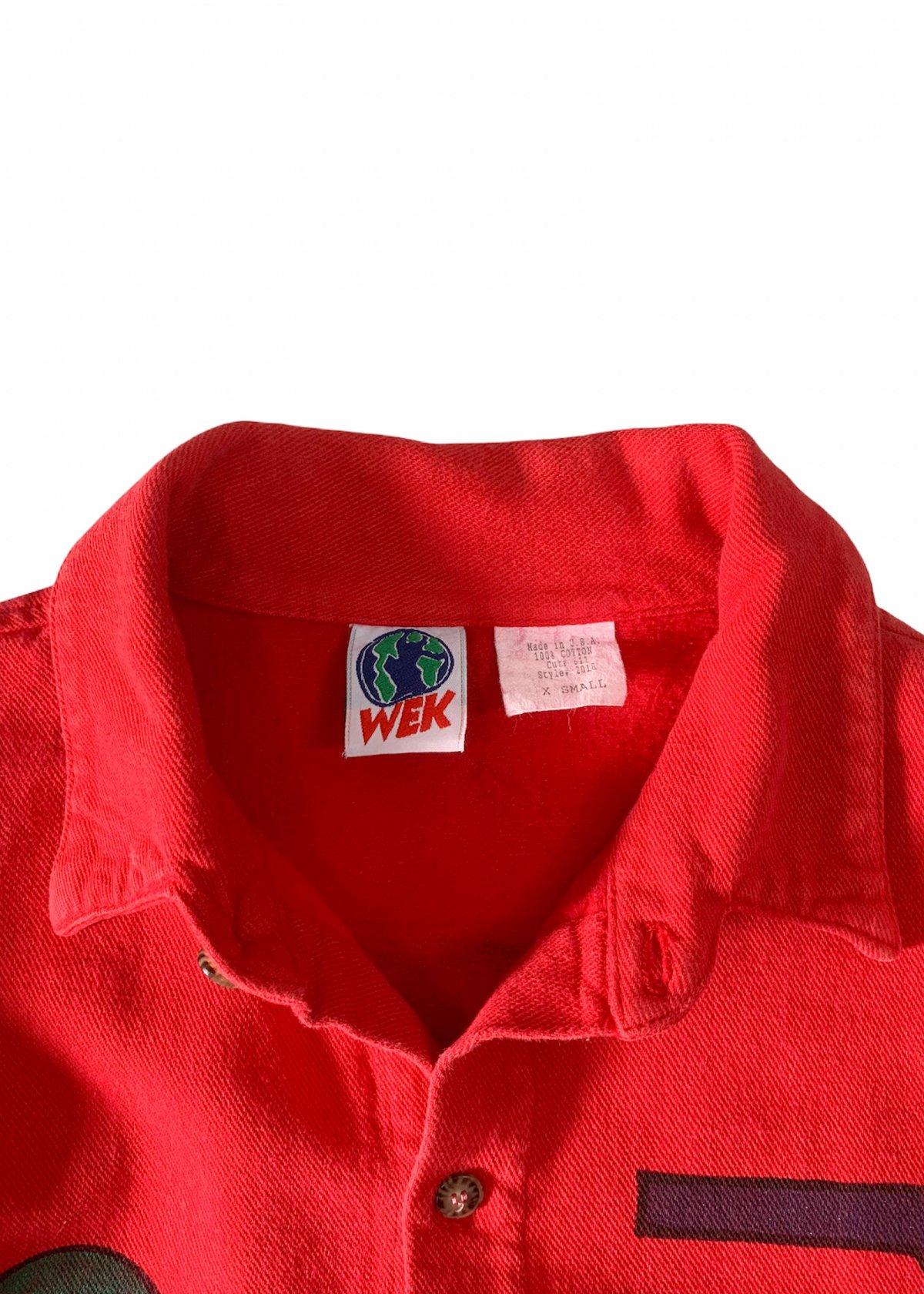 "I&I 古着 通販 ""WEK"" Hand Painted L/S Shirt 詳細画像6"