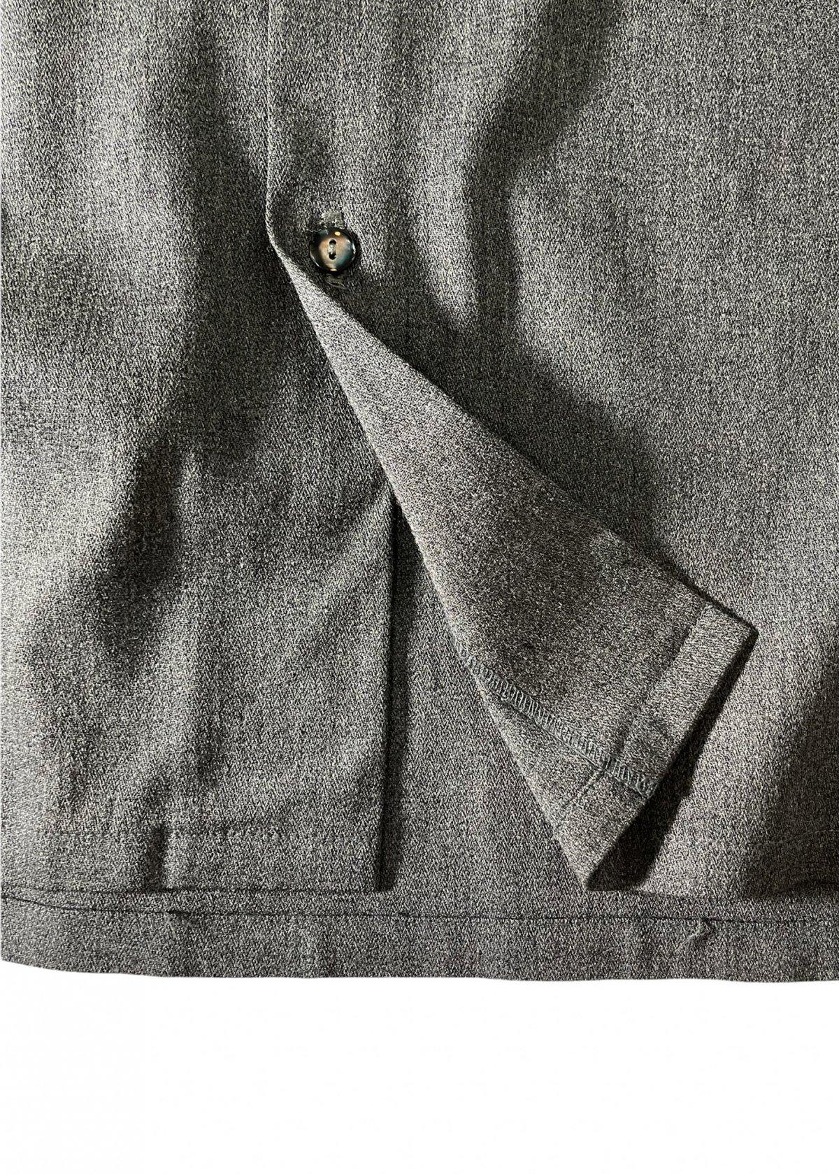 I&I 古着 通販 Vintage Wool Mix wide Shirt 詳細画像10