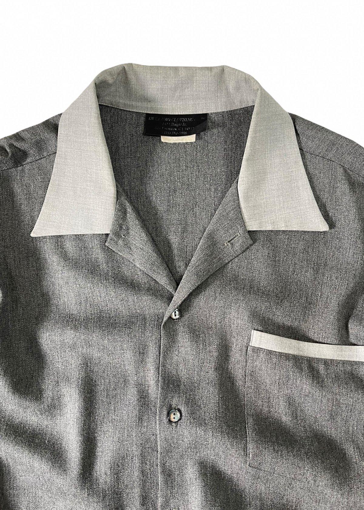 I&I 古着 通販 Vintage Wool Mix wide Shirt 詳細画像2