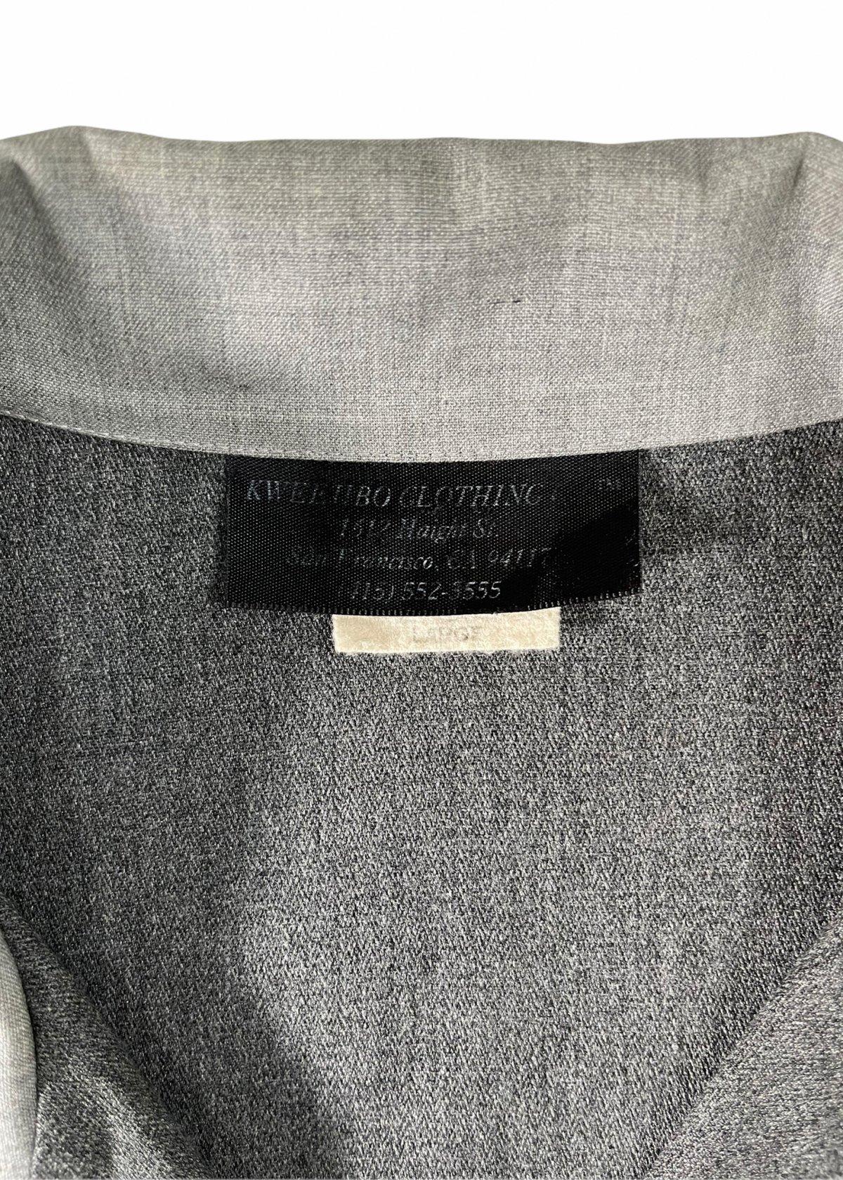 I&I 古着 通販 Vintage Wool Mix wide Shirt 詳細画像3