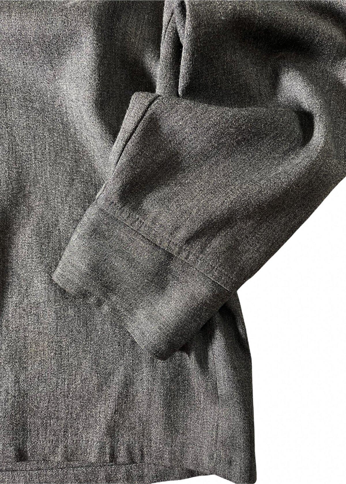 I&I 古着 通販 Vintage Wool Mix wide Shirt 詳細画像5