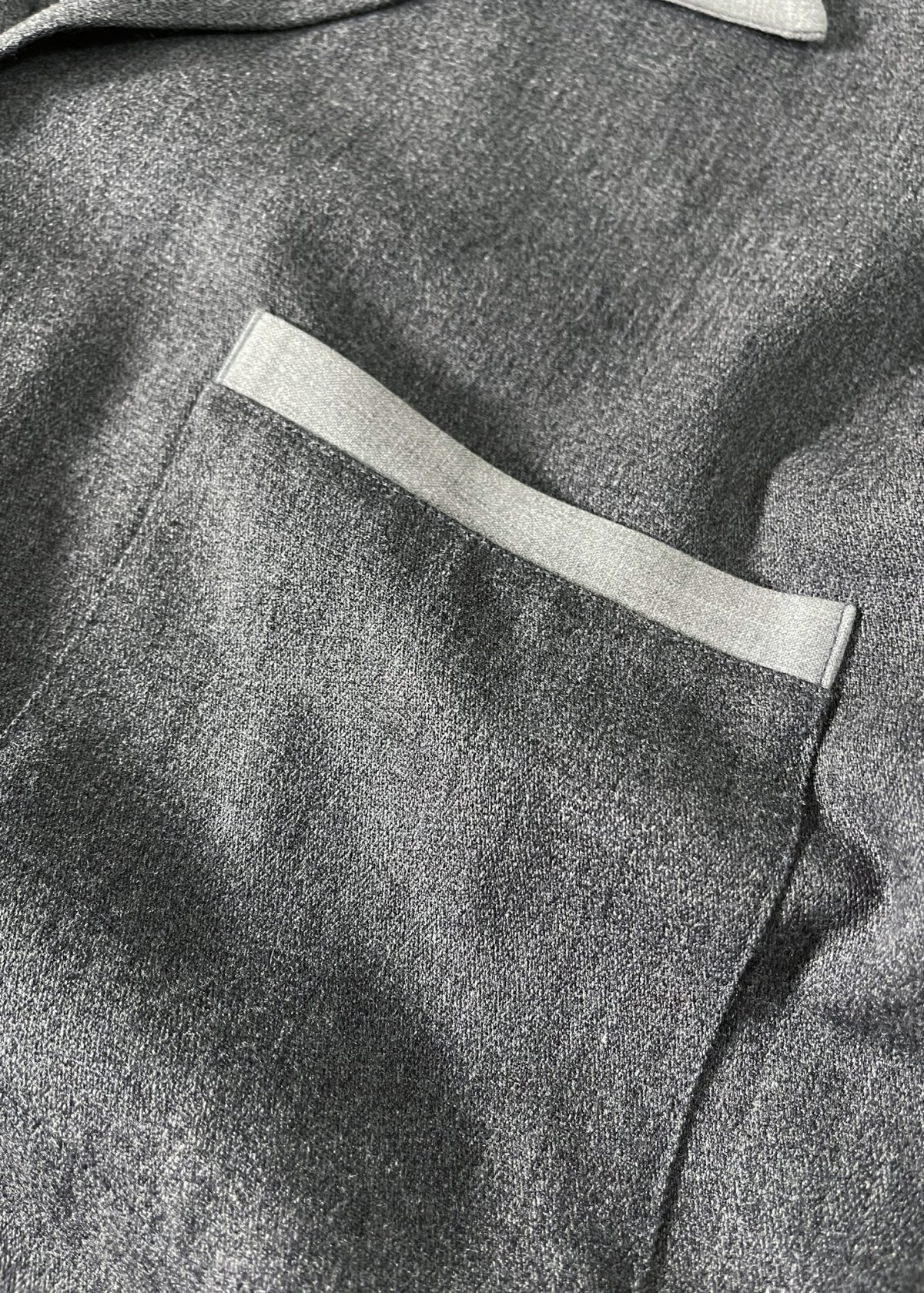 I&I 古着 通販 Vintage Wool Mix wide Shirt 詳細画像9