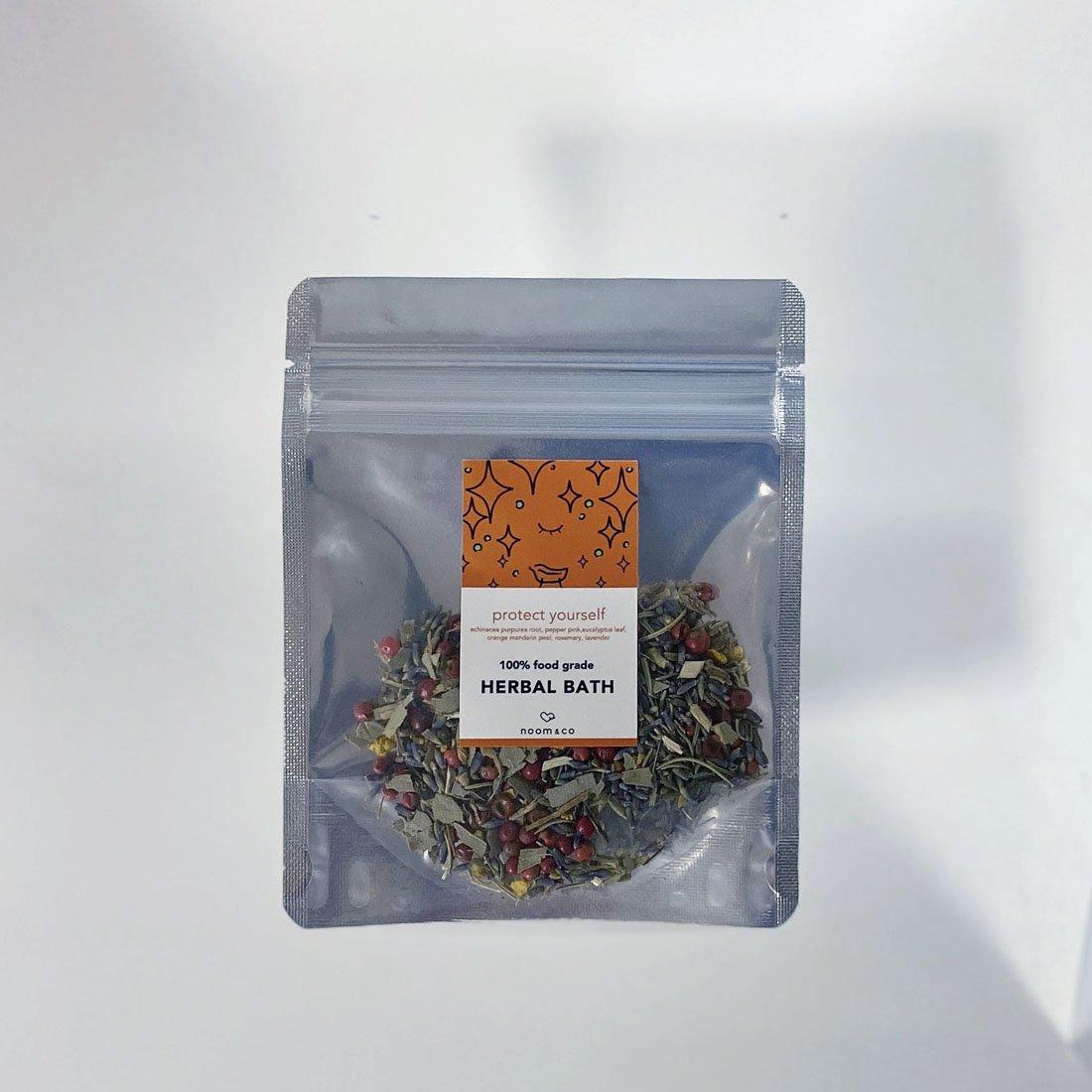「疲れが取れない、風邪を引きやすい方におすすめ。」<1day 10g> 100% food grade HERBAL BATH:protect yourself