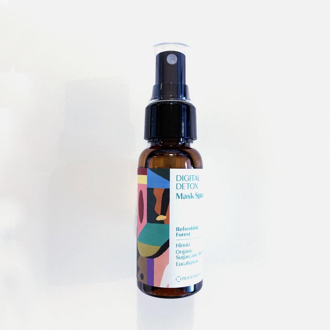「いつでも、どこでも、気軽に森林浴を体験。」DIGITAL DETOX Refreshing Forest Mask Spray