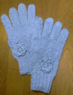 あったか手編みグローブ