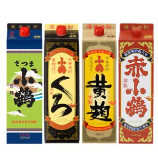 【送料無料】小鶴パック 4種セット