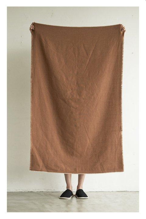 Wool Linen Throwket Small