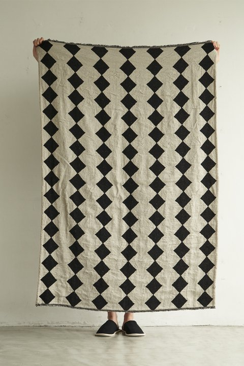 Diamond Jacqard Rug Small