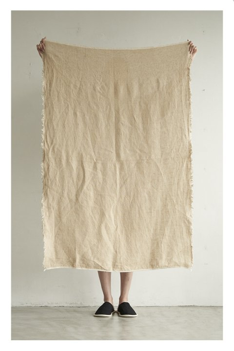 Linen Canvas Rug Small