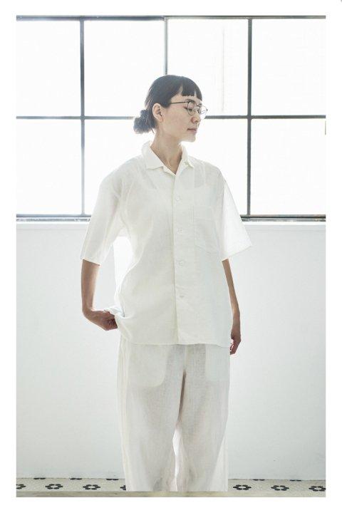 Botanical Dye Shirt〈Linen〉
