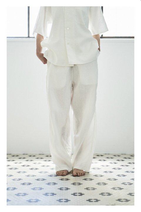 Botanical Dye Pants〈Linen〉