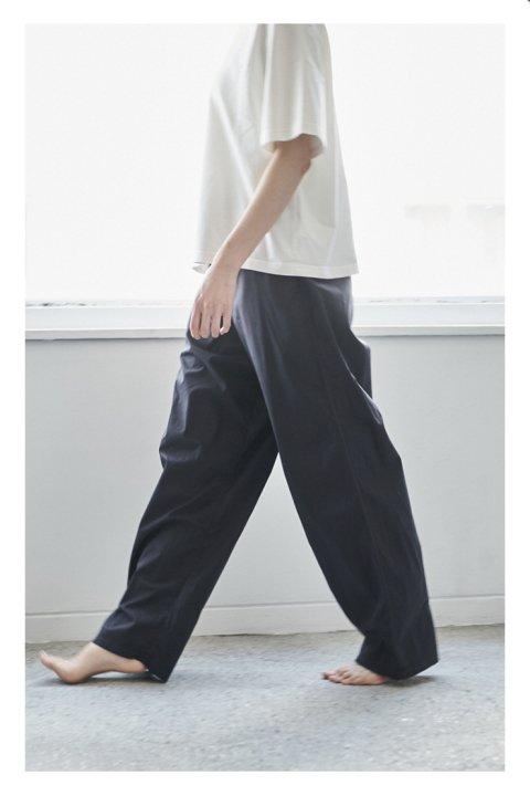 Botanical Dye Pants〈Cotton Silk〉