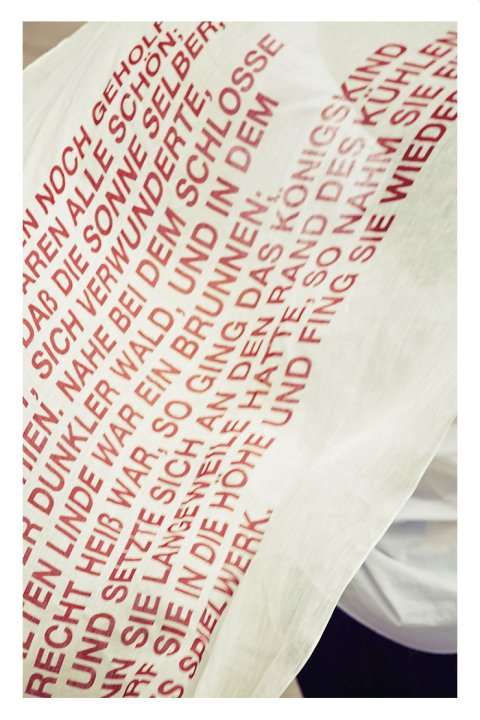 Typography  Art  Stole -Story-