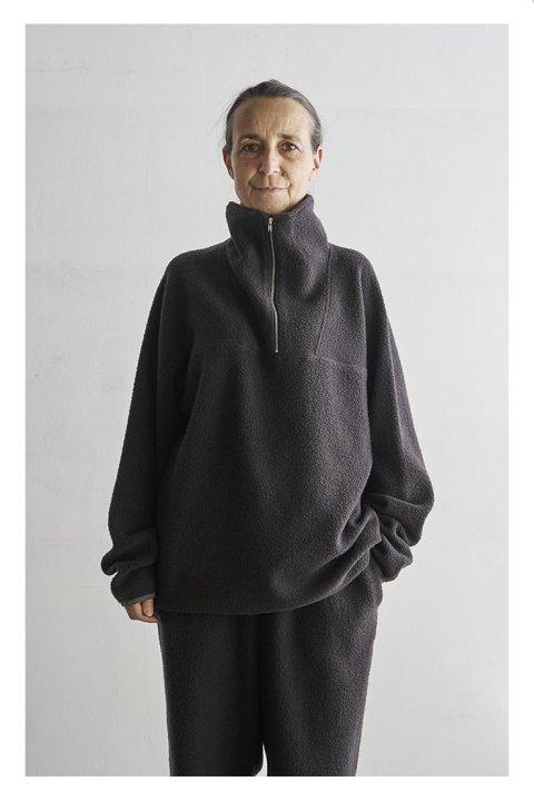 Wool Boa Anorak