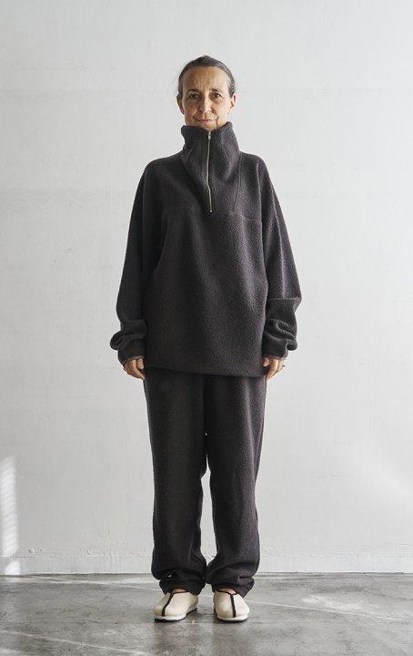 Wool Boa Pants