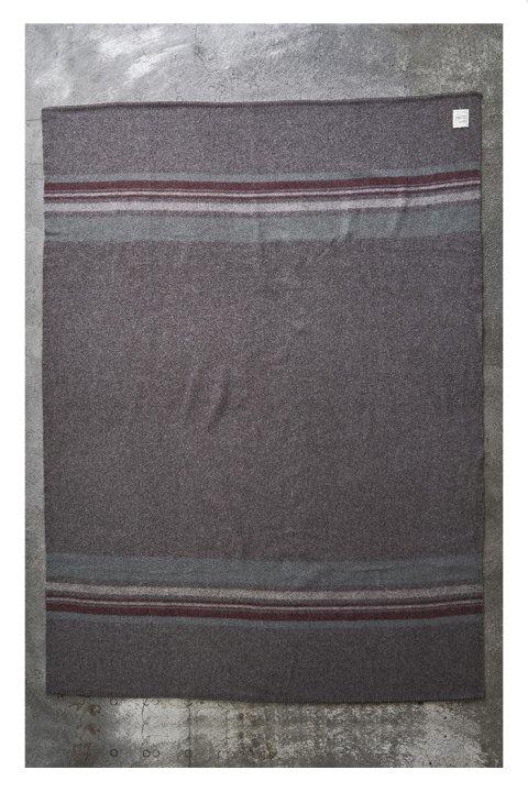 Shetland Wool Border Blanket Big