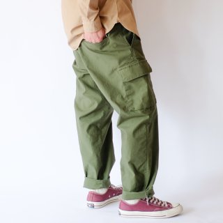 【 WIDE FRENCH CARGO PANTS 】
