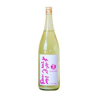 裏萩の鶴 うすにごり 生原酒 透明瓶 1800ml