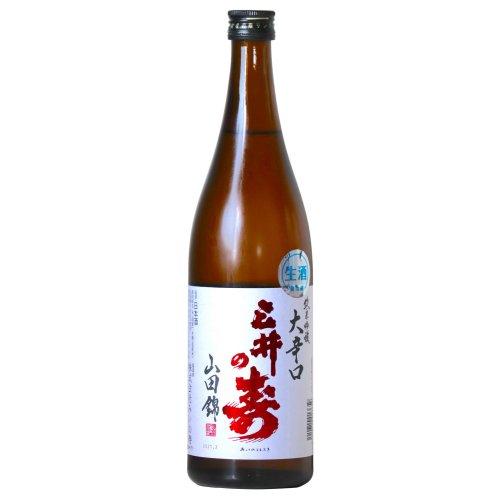 三井の寿 純米吟醸 +14 大辛口 生 720ml