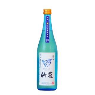 竹雀 純米 超辛口 生 Blue Sky Bottle 720ml