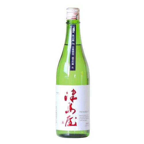 津島屋 純米吟醸 美山錦 無濾過生原酒 720ml