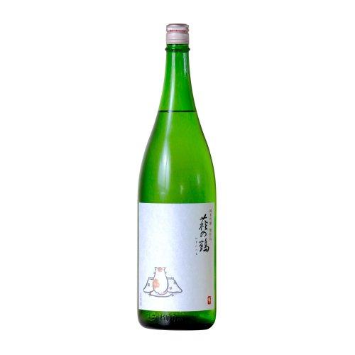 萩の鶴 純米吟醸 こたつ猫ラベル 1800ml