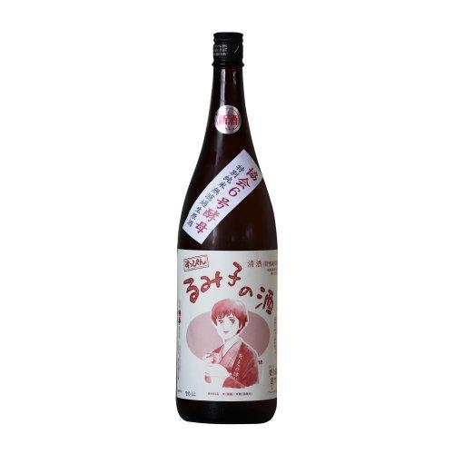 すっぴんるみ子の酒 特別純米 6号酵母 1800ml